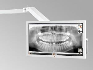 Dentaleinheit mit HD Monitor