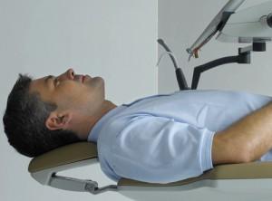 Zahnarztpatient in Rückenlage