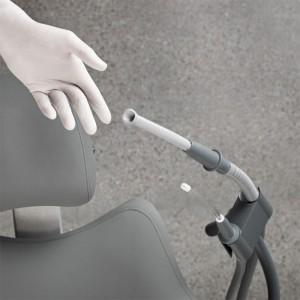 XO Auto Return Saugschlauchhalterung