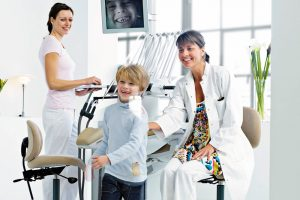 XO Behandlungseinheit: Für entspannte Patienten - Der Patient ist bei der Behandlung stets im Gleichgewicht.