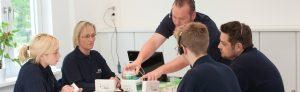 Präsentation in der Logo der Greisen Produkt Service GmbH